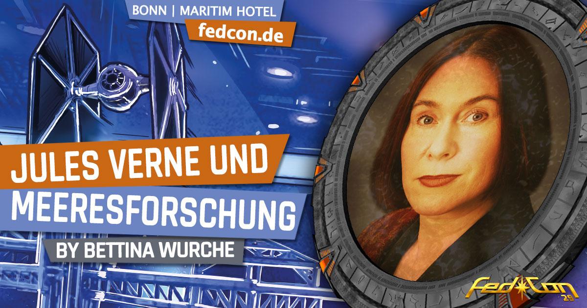 FedCon 29 | Vortrag | Jules Verne und Meeresforschung | by Bettina Wurche