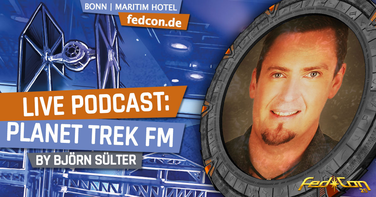 FedCon 29 | Vortrag | Live Podcast: Planet Trek fm | by Björn Sülter