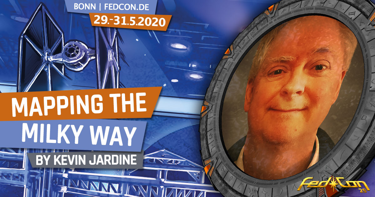 FedCon 29 | Vortrag | Mapping the Milky Way | by Kevin Jardine