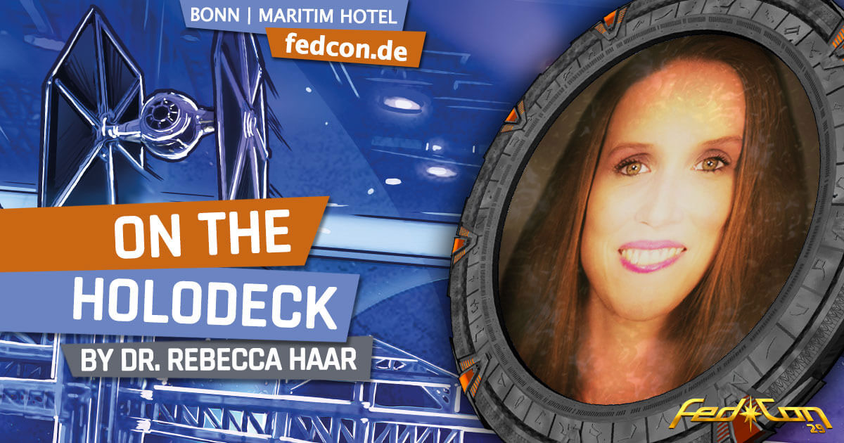 FedCon 29 | Vortrag | On the Holodeck | by Dr. Rebecca Haar