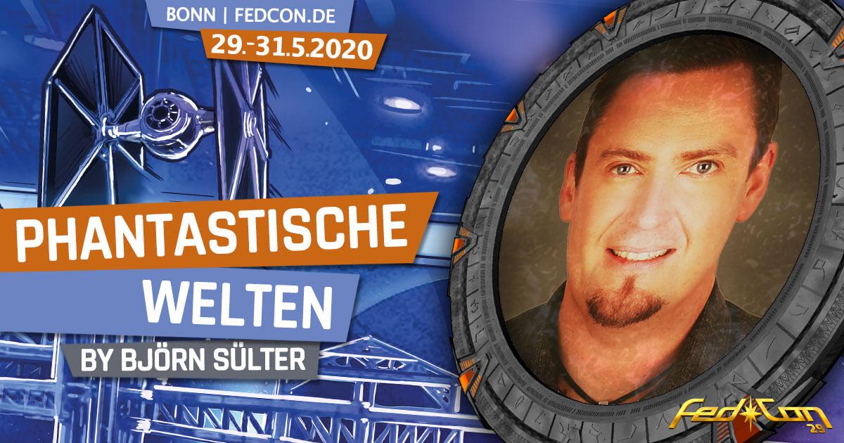 FedCon 29 | Vortrag | Phantastische Welten | by Björn Sülter