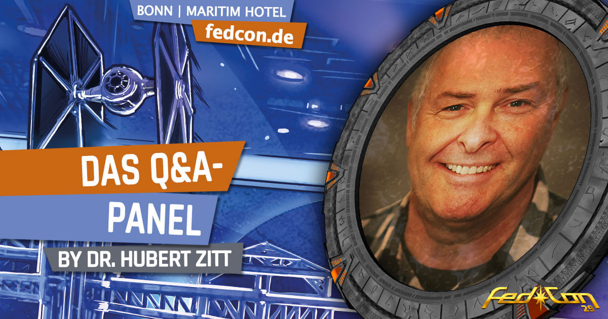 FedCon 29 | Vortrag | Das Q&A-Panel | by Dr. Hubert Zitt