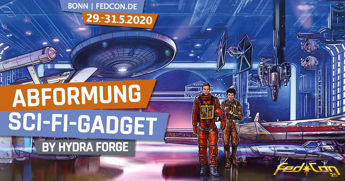FedCon 29 | Workshop | Abformung Sci-Fi-Gadget | by Hydra Forge